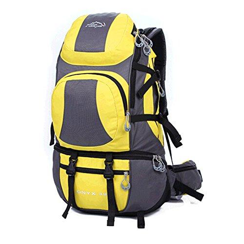 freizeitaktivitäten im freien sporttasche, in der tasche mit großer kapazität verdoppeln tasche rucksack tragen mode - tasche G