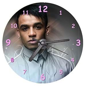 Aston Merrygold JLS CD Clock - with FREE desktop stand