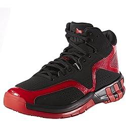 adidas D Howard 6 - Zapatillas Para Hombre, Color Negro/Rojo, Talla 50 2/3
