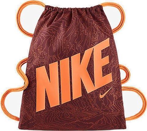 Nike Kinder Graphic Turnbeutel, Team Red/Total Orange, 2 x 35.5 x 45.5 cm