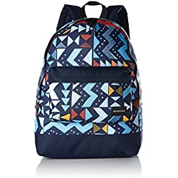 Quiksilver Everyday Póster Medio Mochila Grande, hombre, EVERYDAY POSTER, Valarta Blue Tribal Tetris, 1SZ