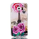 Coffeetreehouse Coque Samsung Galaxy S6 Edge, Motif Soft coloré de Motif estampé...