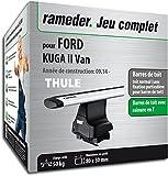 Rameder Pack Barres de Toit WingBar Evo pour Ford KUGA II Van (119553-13357-2-FR)