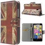 XAiOX Book-Style Flip Case for Nokia Lumia 635 630