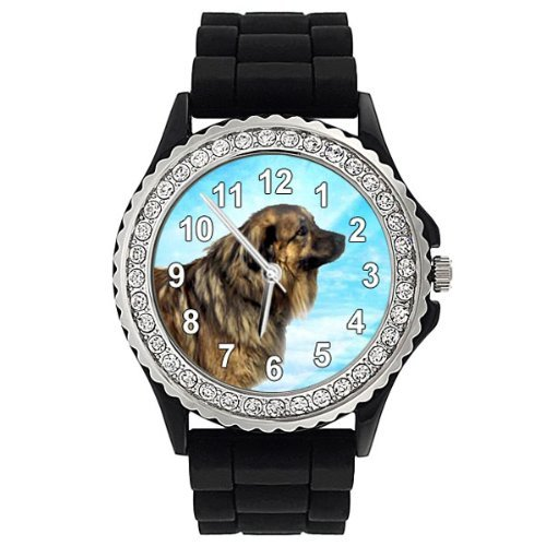 estrela-dog-crystal-rhinestone-jelly-silicone-wrist-watch
