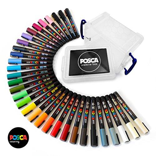PC- 3 m gamme POSCA 27 de toutes les couleurs