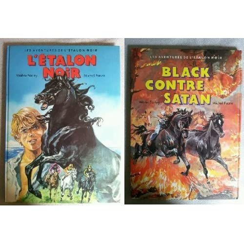 Black contre Satan (Les Aventures de l'étalon noir .)