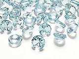 Dekosteine Diamanten türkis 10 Stück 20mm Durchmesser Deko-Edelsteine Tischdeko Hochzeit Palandi®
