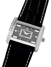 ANTONELLI 960008 - Reloj Unisex movimiento de cuarzo con correa de piel