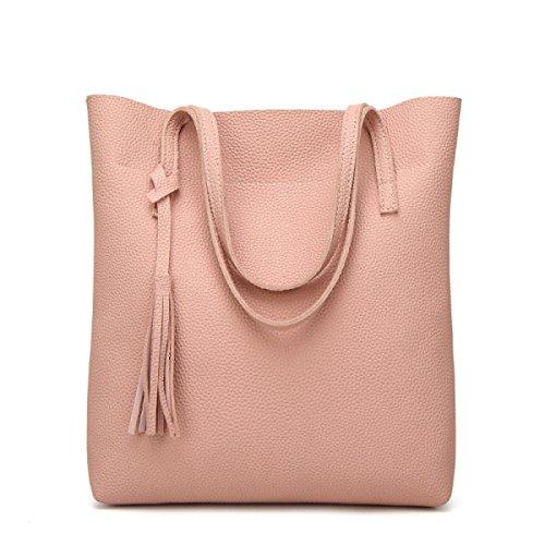 Sacchetto Di Spalla Del Sacchetto Del Messaggero Del Sacchetto Delle Signore Del Sacchetto Di Spalla Nuovo,Pink Pink