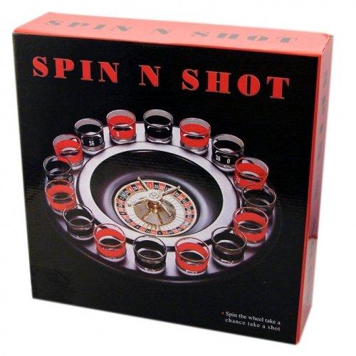Krüger & gregoriades 549617-gioco alcolico schnaps della roulette