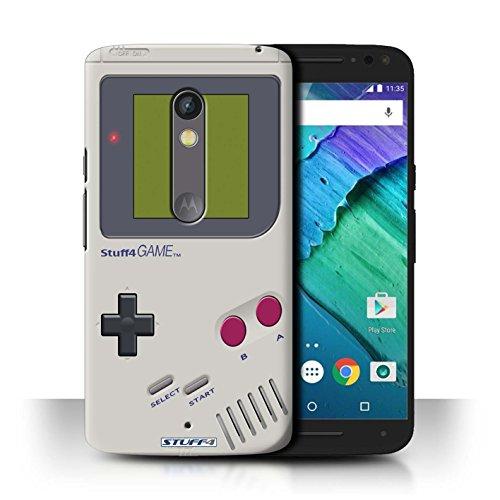 Stuff4 Hülle / Hülle für Motorola Moto X Play 2015 / Nintendo Game Boy Muster / Spielkonsolen Kollektion
