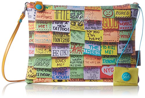 GabsBEYONCE - Borse a Tracolla Donna , Multicolore (Mehrfarbig (SO223)), 28x21x1 cm (B x H x T)