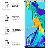 Huawei P30 Pro Smartphone débloqué 4G (6,47 pouces - 8/128 Go - Double Nano SIM - Android 9.1) Blanc nacré [Offre avec bon d'achat]