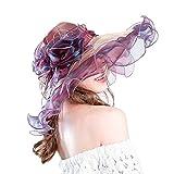 Dazzle Colour Gauze cap Lady Summer Colore Misto Cappello Protezione Solare
