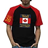 Retro Formula 1 Historic Wolf Racing Grand Prix 100% Cotton T-Shirt Large