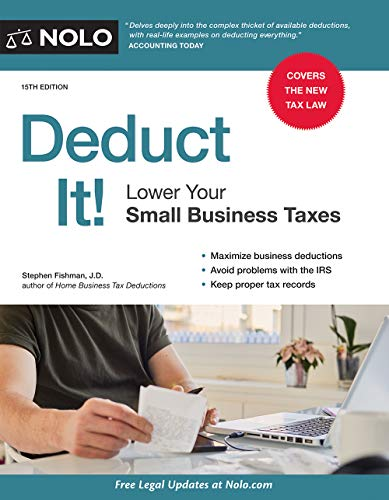 Download Read Deduct It Lower Your Small Business Taxes By