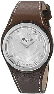 Salvatore Ferragamo watch for Women - Analog PU Leather Band - FID030015