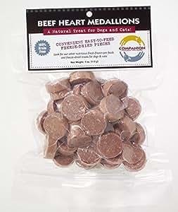 Fresh is Best Freeze-Dried Beef Heart Medallions