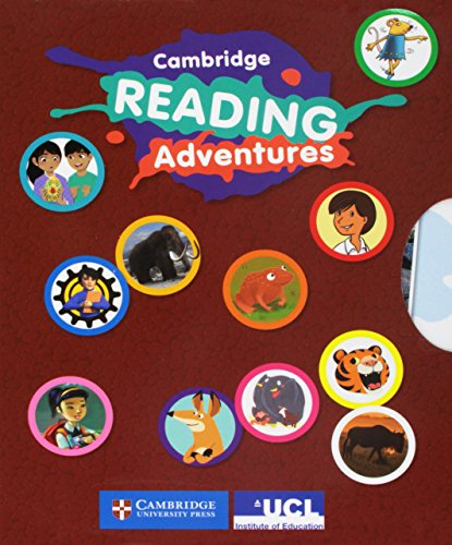 Cambridge Reading Adventures Blue and Green Bands Adventure Pack 3 with Parents Guide -
