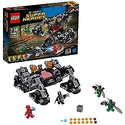 """DC Comics Lego Super Heroes 76086- Giocattolo Justice League """"attacco nel tunnel del Knightcrawler"""""""