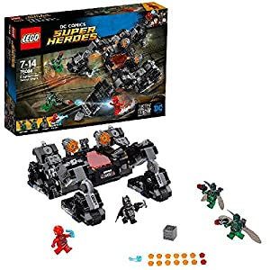 dc comics Lego Super Heroes 76086 Justice League Knightcrawler Tunnel Attack Toy 1 LEGO