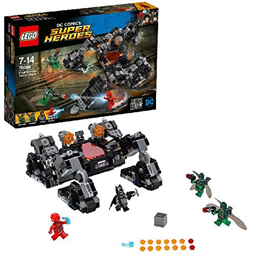 DC Comics Lego Super Heroes 76086 Justice League Knightcrawler Tunnel Attack Toy
