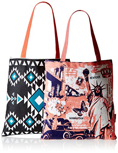 Kanvas Katha Women's Tote Bag (Multi-Colour)(KKBSAMZAUG003-KKBSAMZAUG009)