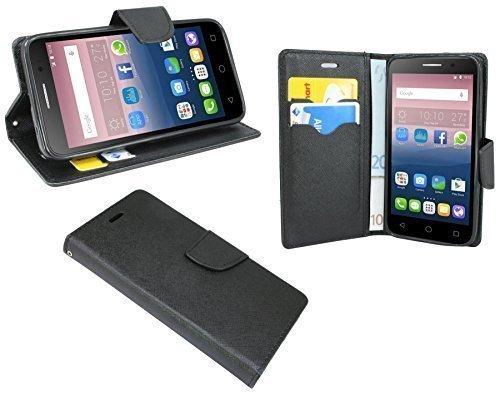 ENERGMiX Buchtasche kompatibel mit Alcatel One Touch POP 3 (5,0