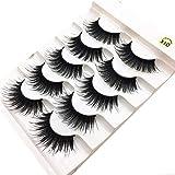 Sufeng Eyelash Beauty 1 Box Luxury 3D Lashes Fluffy Strip Eyelashes Long Natural