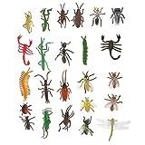 Segolike 24x Assorted Plastic Insect Ani...