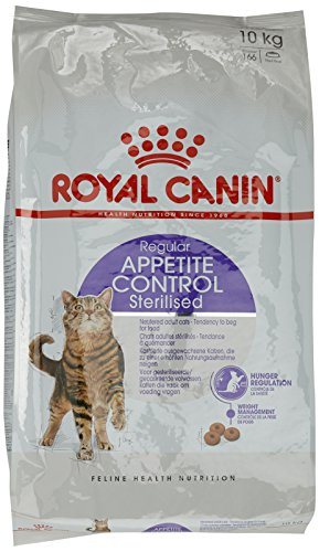ROYAL CANIN Sterilised Appetite Control Nourriture pour Chat 10 kg