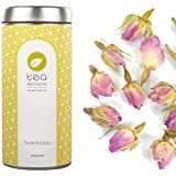 tea exclusive - BIO Rosenblüten, Rosen, Knospen, lose Tee (Biotee, kbA), Dose 50g