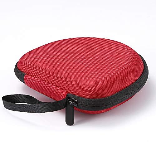 Hard Case für Sony MDRZX110NC / ZX300 / ZX310 / MDRZX110 ZX-Serie Stereo / MDRZX110AP Extra Bass-Kopfhörer, Reise-Schutz-Aufbewahrungstasche - Rot