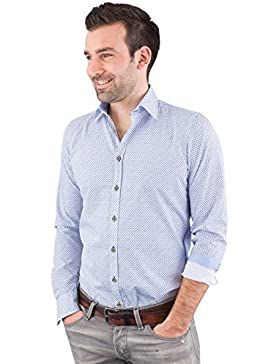 Pure Trachtenhemd Herren langarm C32605-21199 173