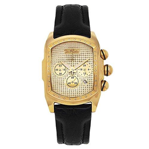 Joe Rodeo diamante da uomo orologio - KING oro 0,36 ctw