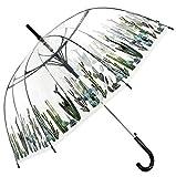 Paraguas Transparente con Variados Motivos de Cactus