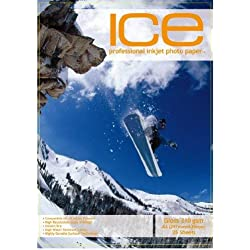 50 feuilles ICE A3 210 g/m² Papier photo brillant/brillant