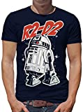 TLM Star Wars R2-D2 T-Shirt Herren XXL Dunkelblau