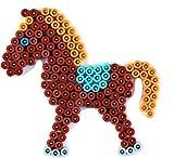 Hama 321–Midi Platte–Pony