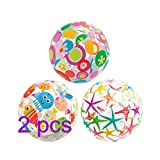Xueliee Popular Inflatable Beach Balls size 2Pack