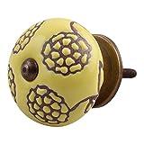 IndianShelf 2 Piece Handmade Ceramic Kno...