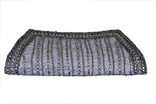 Craft Trade Handmade Mirror Clutch Bag For Women And Girls  available at amazon for Rs.410