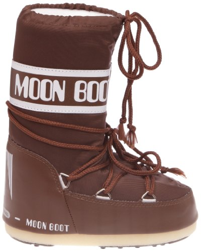 Moon Boot Nylon, Bottes de Neige mixte adulte Marron (Marrone)