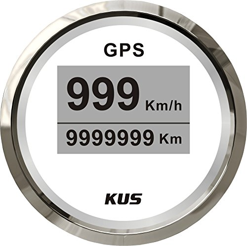 Preisvergleich Produktbild Kus Digital GPS Tacho Gauge 0–999 Knoten für Boot Yacht 52 mm (5, 1 cm)