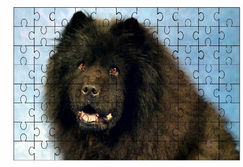 chow-chow-nero-cane-grande-puzzle-96-pezzi-71