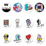 Skisneostype KPOP BTS Bangtan Boys Brooch BTS Cartoons Cute Style BTS Button Pin Badges Accessories A.R.M.Y Clothes Hat Backpack Decoration