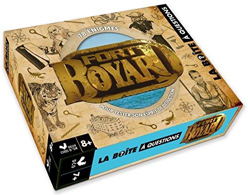 Fort Boyard - bote avec cartes et livre