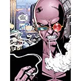 Comic Book Transmetropolitan American Glasses Spider Cartoon Large Art Print Poster Wall Decor 18x24 inch Bande dessinée Livre américain Verre Dessin animé Grand Art Affiche mur Déco