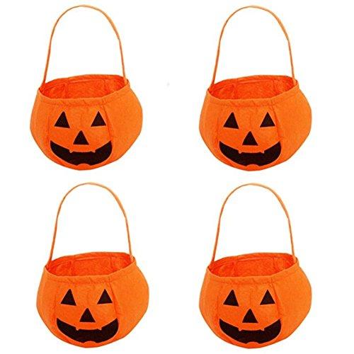 Kürbis-Tasche für Kinder-Halloween-Taschen Kürbis-Hut-Kostüme (Gelb3) (Kostüme Für Theaterstücke)